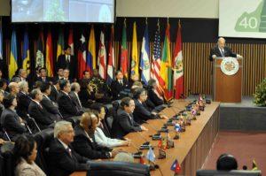 CUADRAGÉSIMO PERÍODO ORDINARIO DE SESIONES DE LA OEA, LIMA PERU